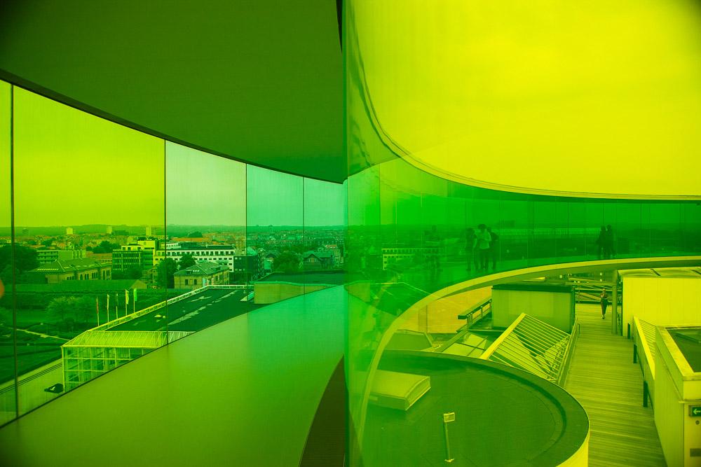 Your rainbow panorama at Aros - Green