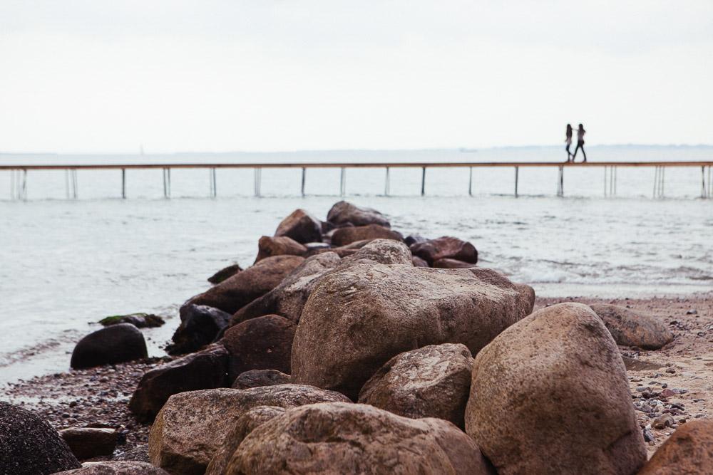 Gjøde og Povlsgaard, DEN UENDELIGE BRO, Sculpture by the sea, Aarhus