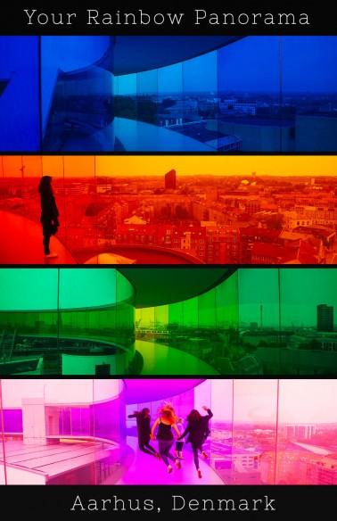 Your Rainbow Panorama, Aarhus, Denmark