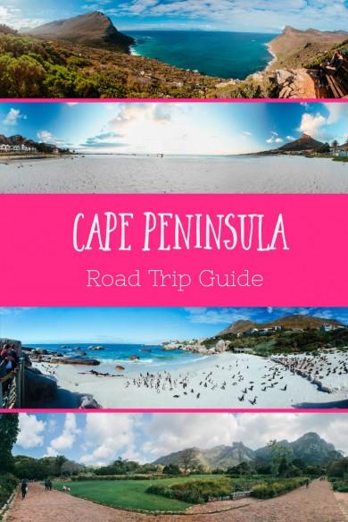 Cape peninsula Road trip Guide South Africa
