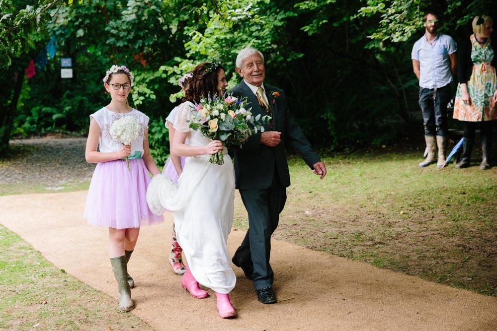 Cornish Tipi Weddings ceremony