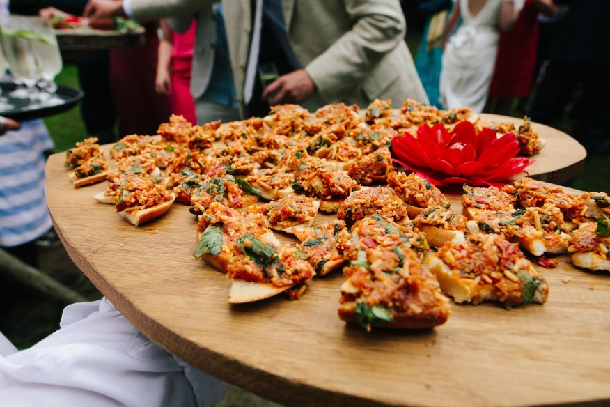 Fee Turner wedding food Cornwall