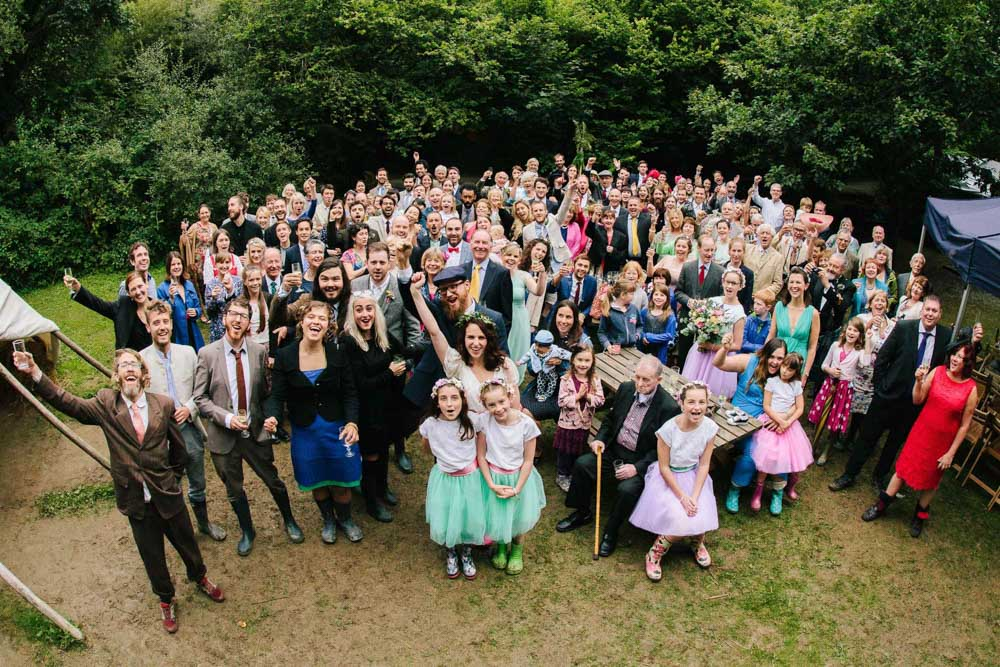 Our wedding at Cornish Tipi Weddings