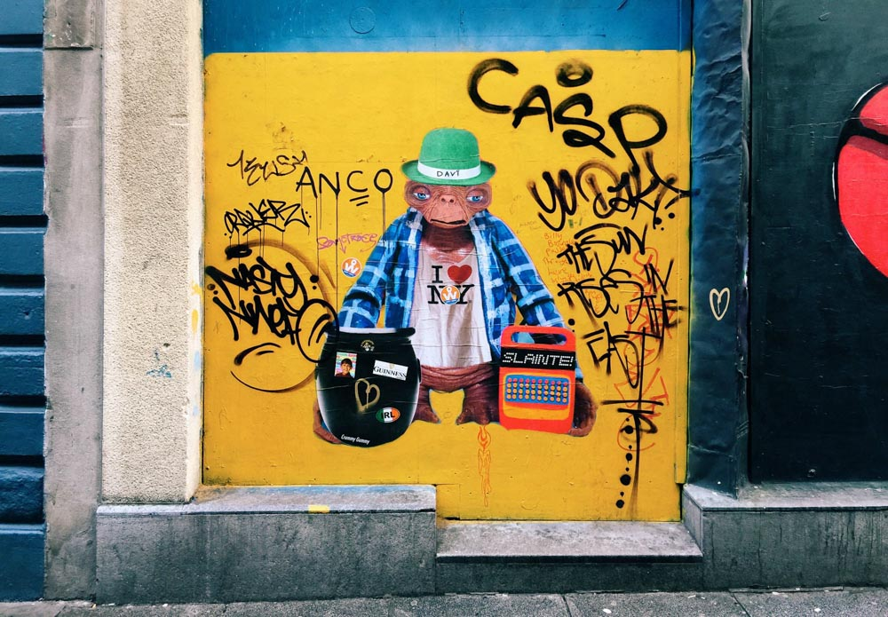 Dublin travel inspiration - Street art