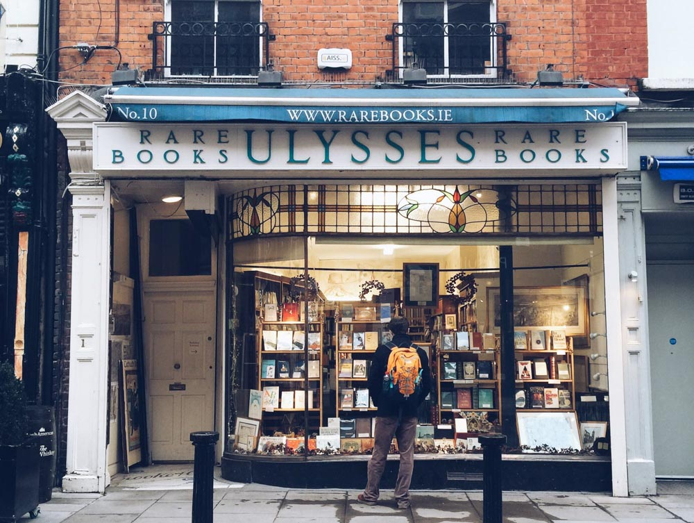 Dublin Ulysses bookshop