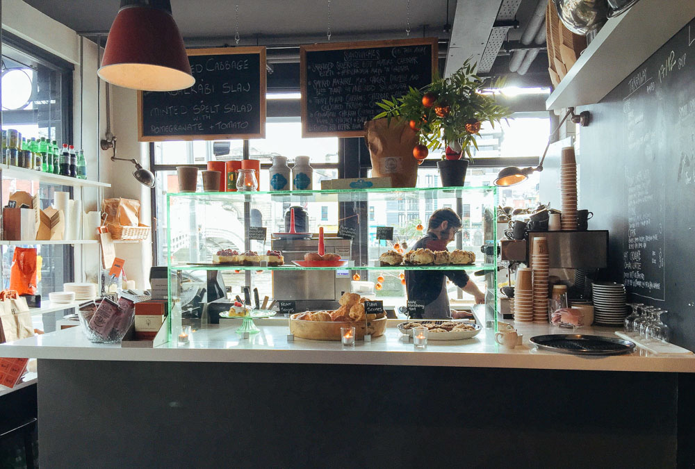Woollen Mills Dublin cafe