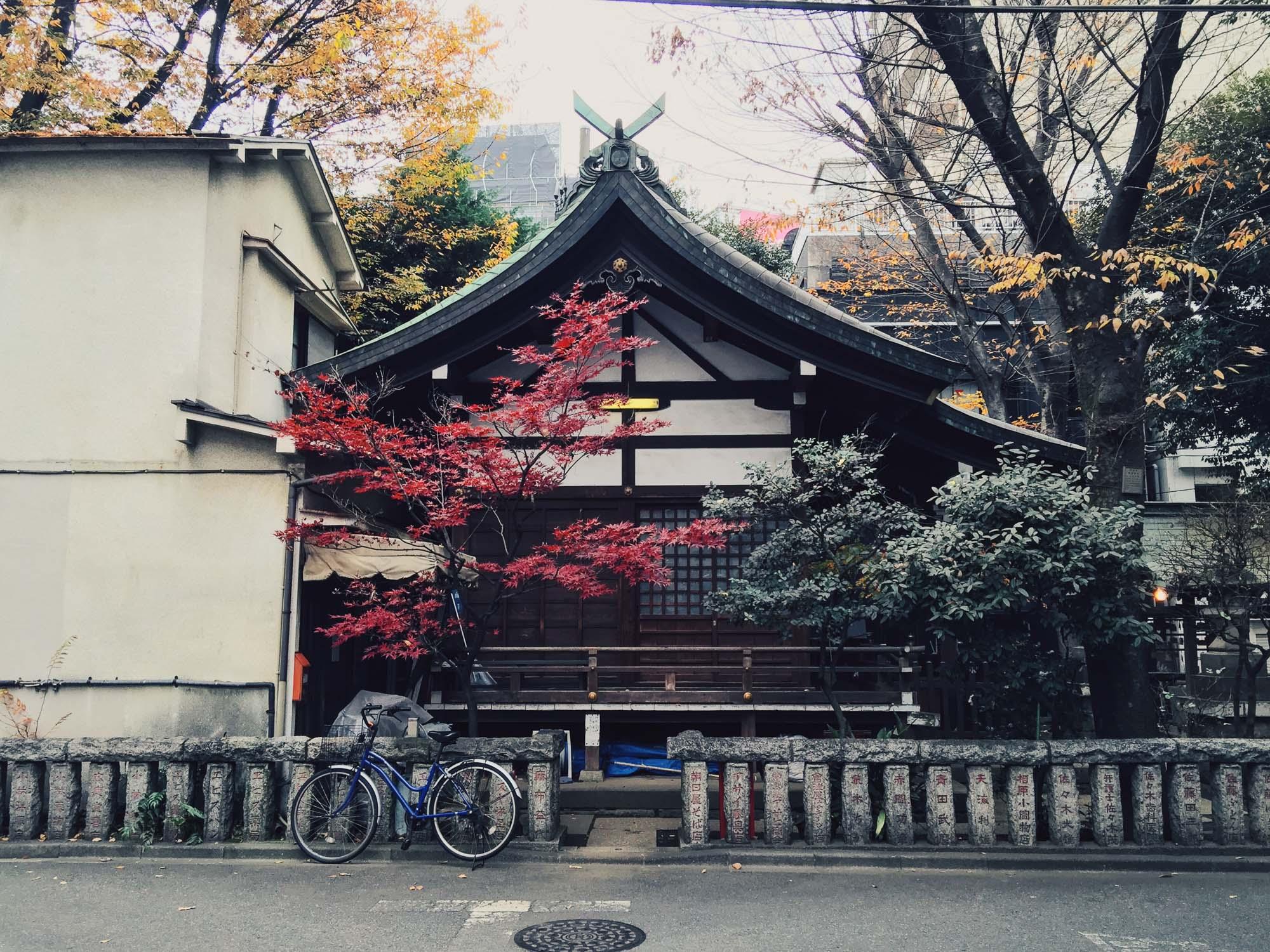 Instagramming Japan - streets of Tokyo
