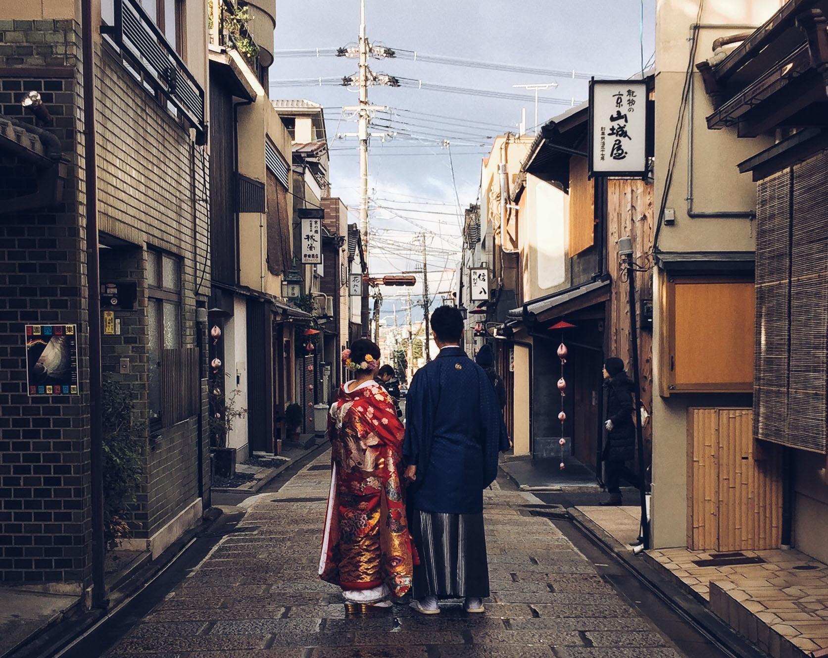 Instagramming Japan - costumes in kyoto