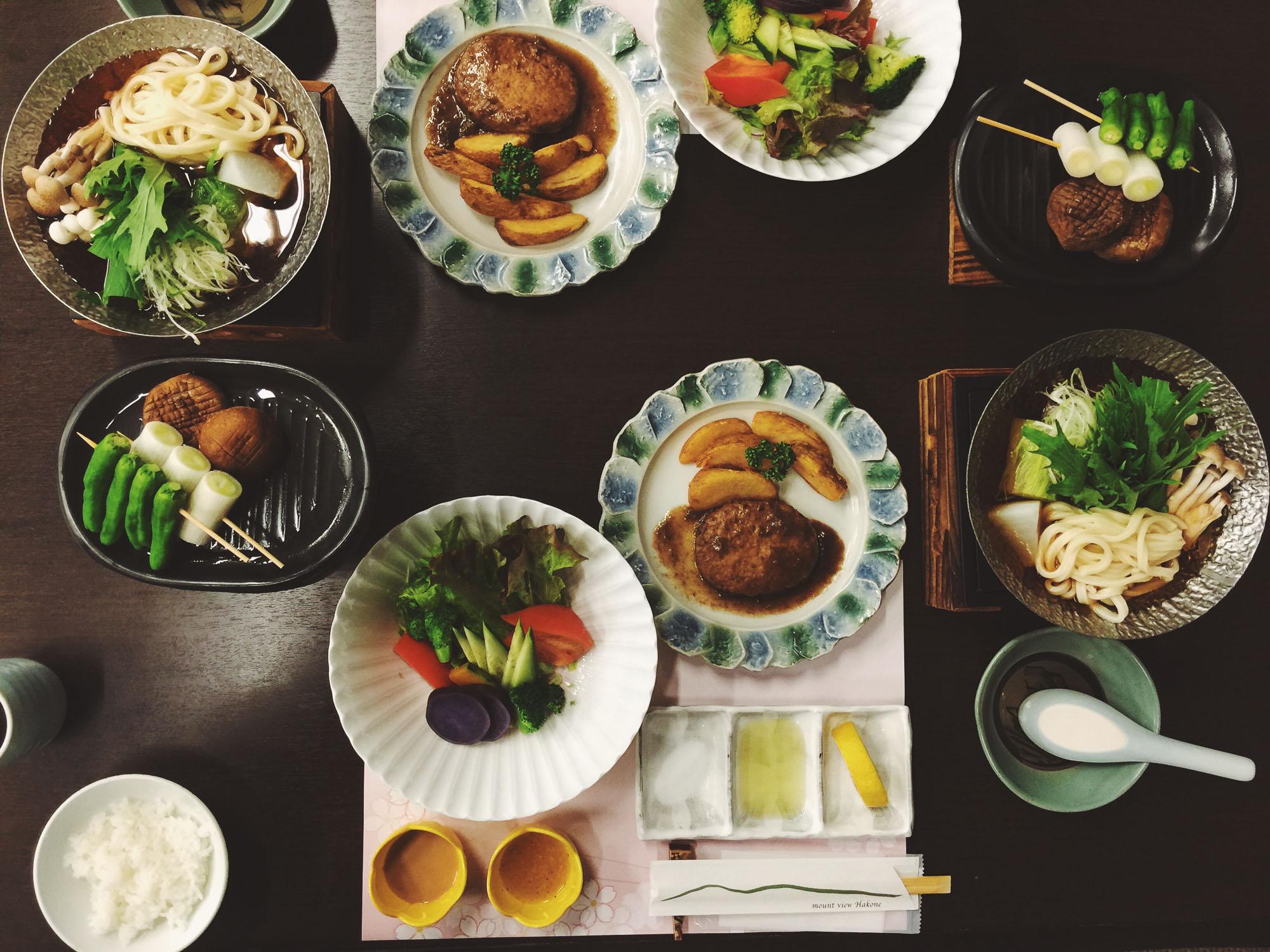 Japan itinerary - Hakone food