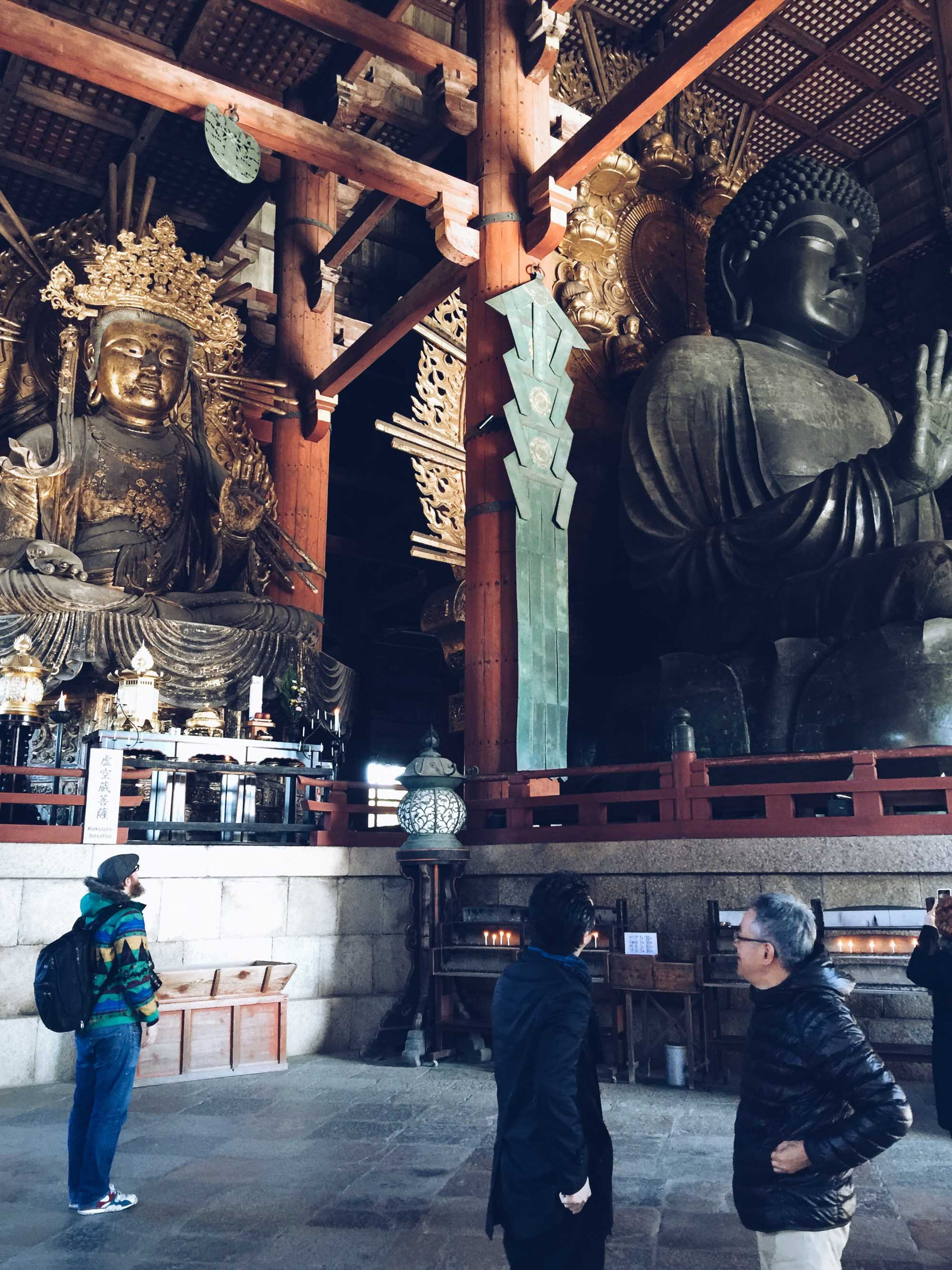 Instagramming Japan - Giant buddha at Nara