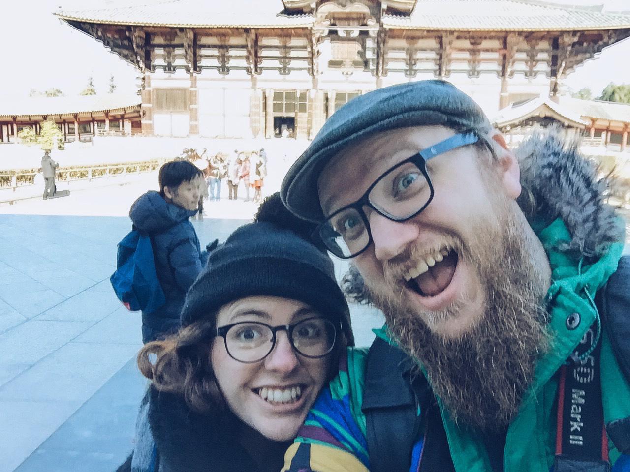 Instagramming Japan - nara selfie