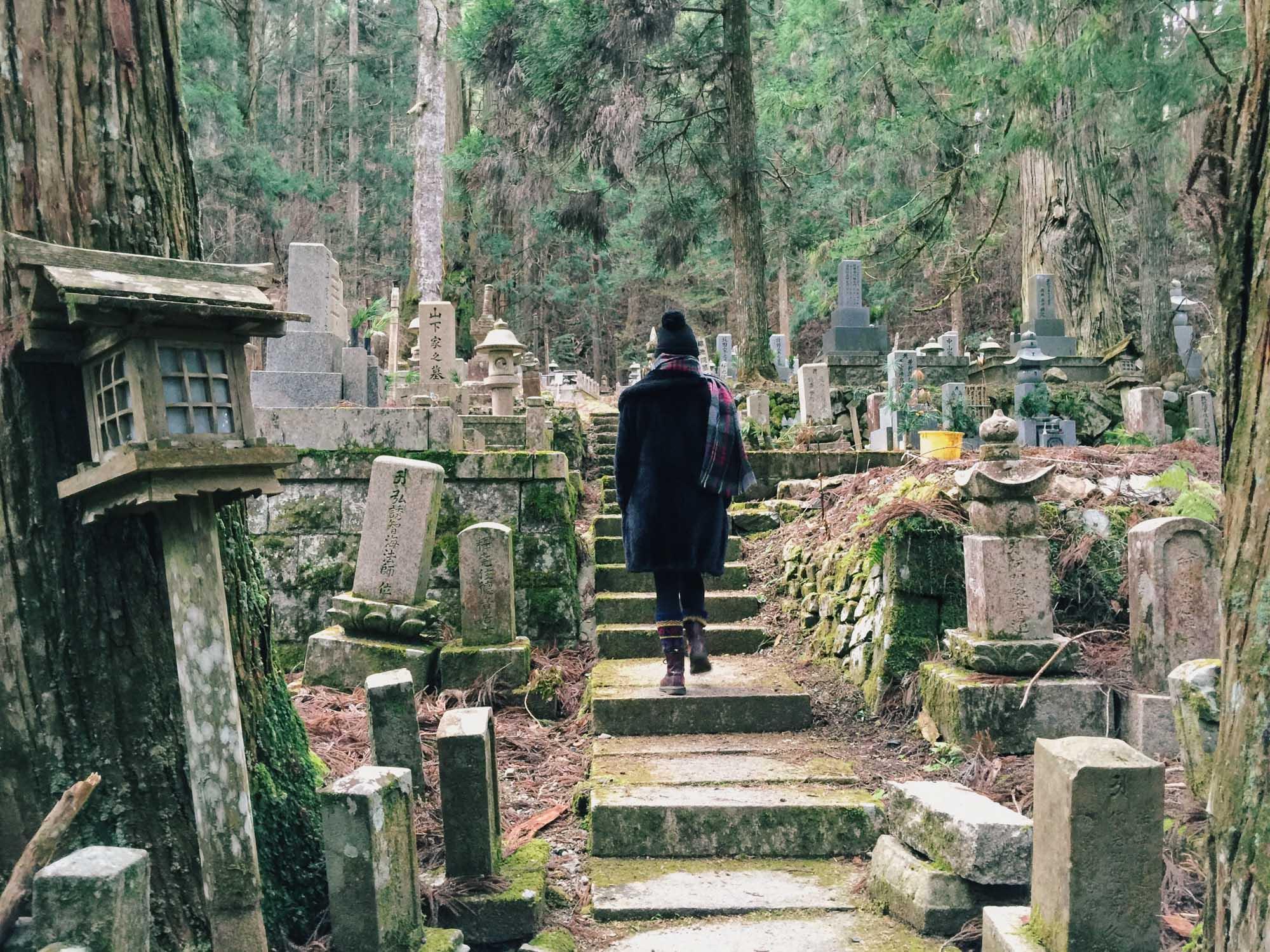 Instagramming Japan - Koyasan graveyard