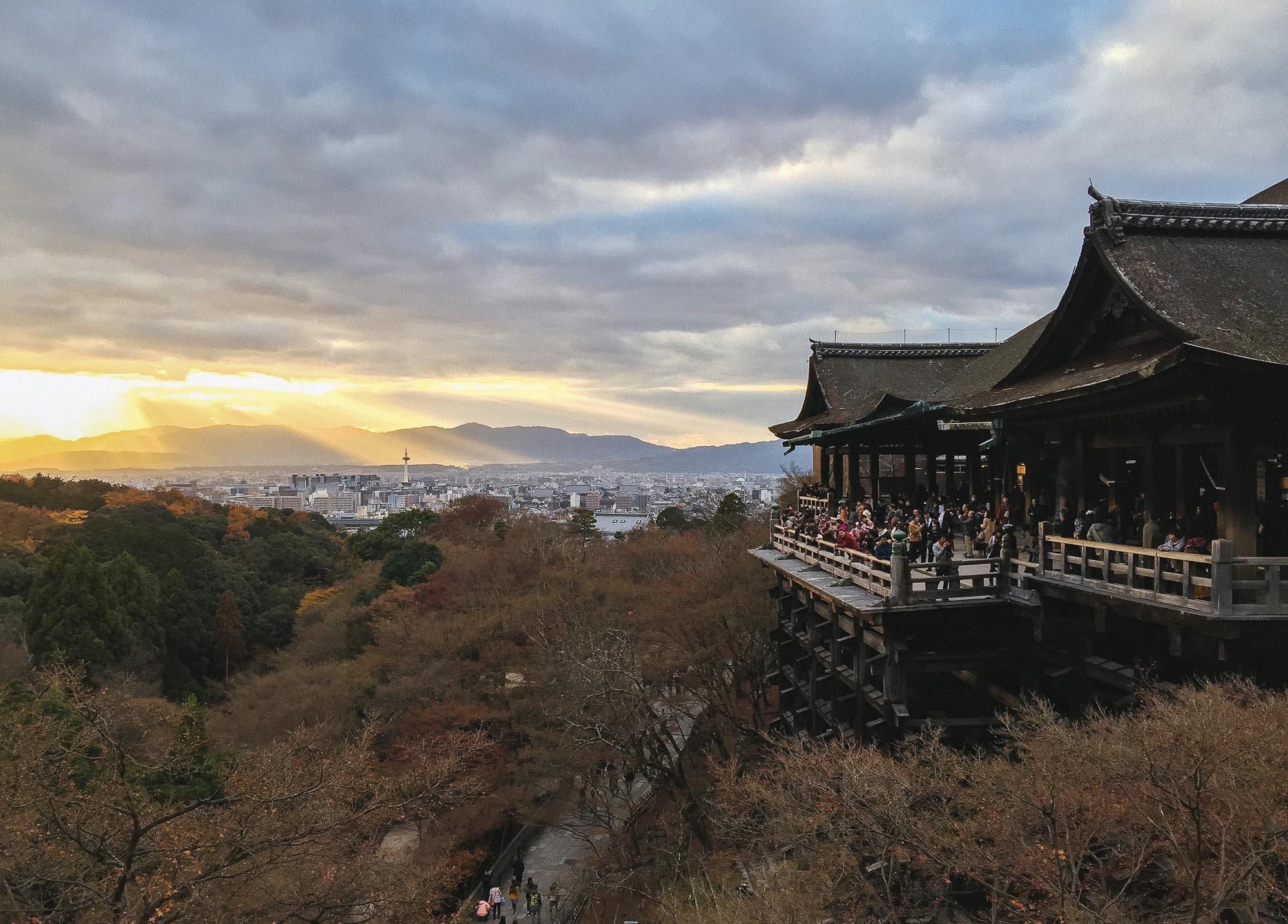 Instagramming Japan - Kiyomizu dera temple