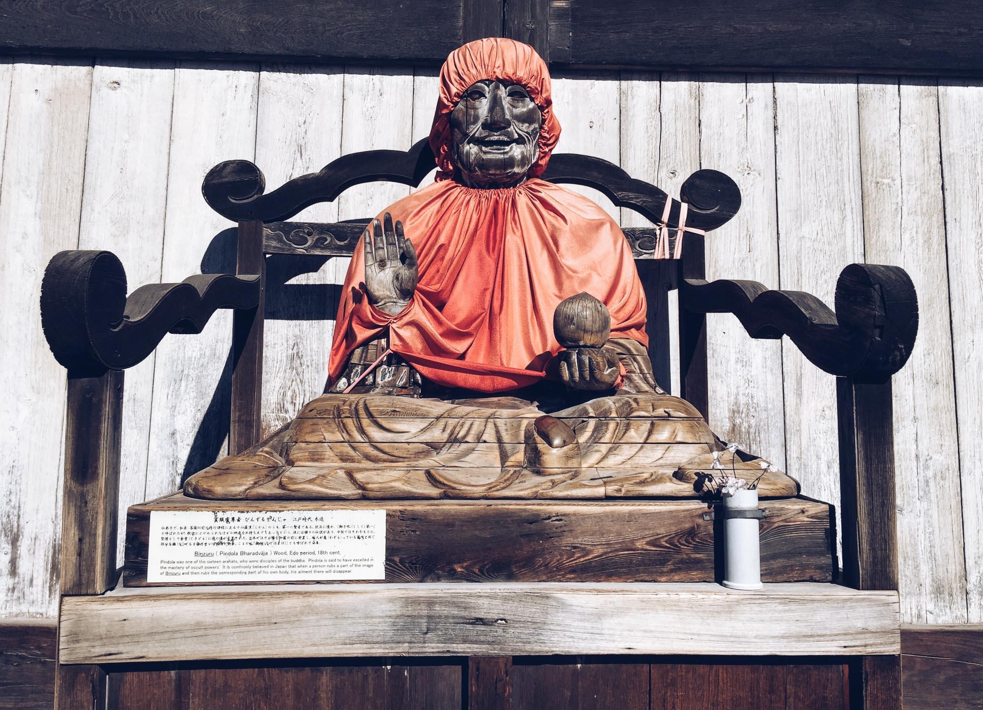 Japan itinerary- Nara statue