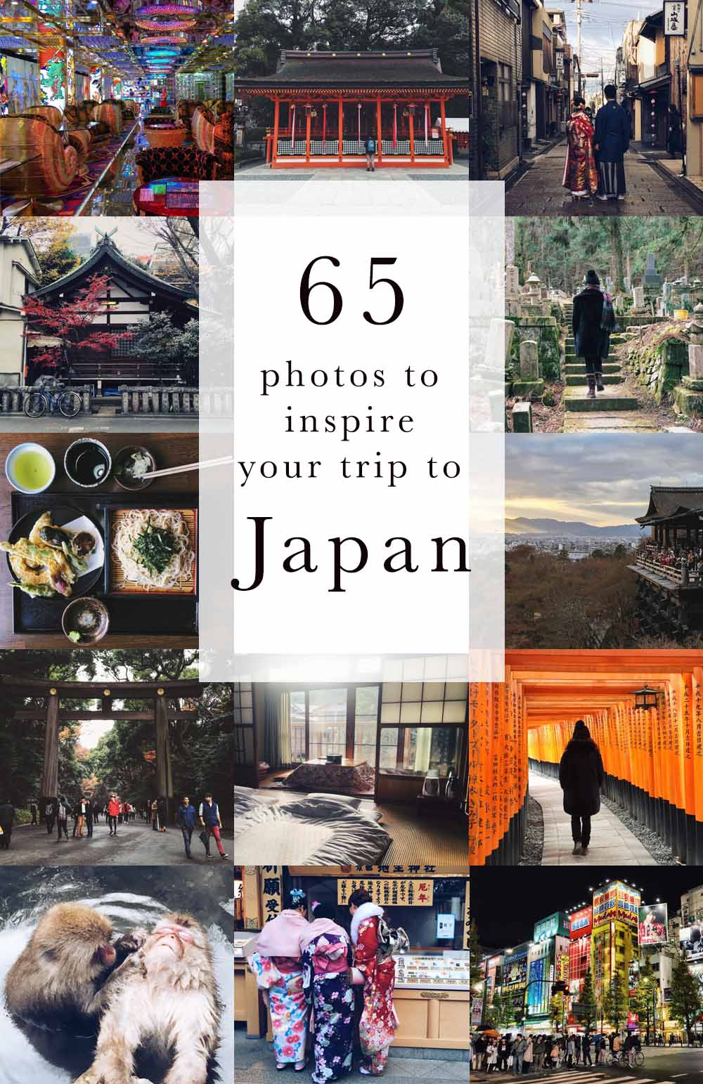 65 photos to inspire your trip to Japan