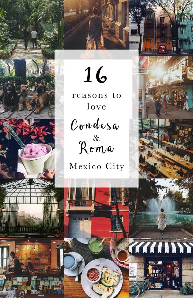 16 Reasons to love La Condesa   Roma in Mexico City. Things to do 79d54179268
