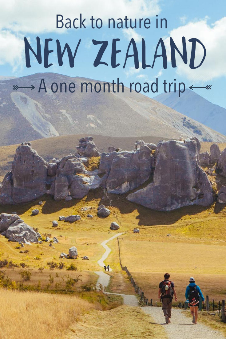The perfect one-month road trip in New Zealand: A full itinerary with lots of tips and advice.