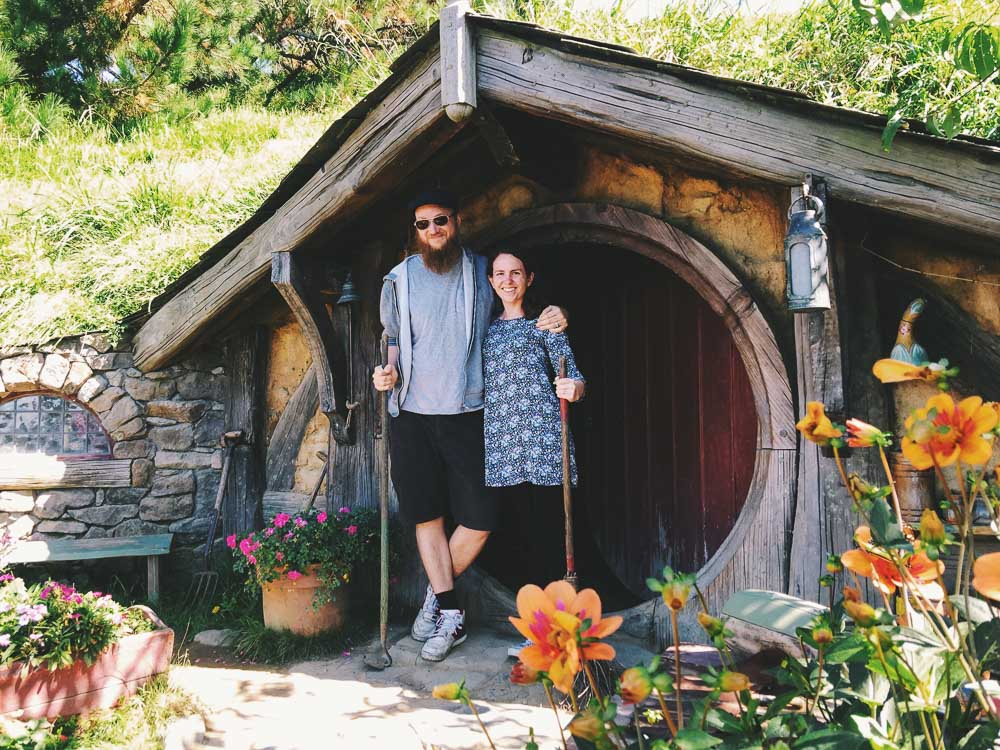 New Zealand road trip - Hobbiton