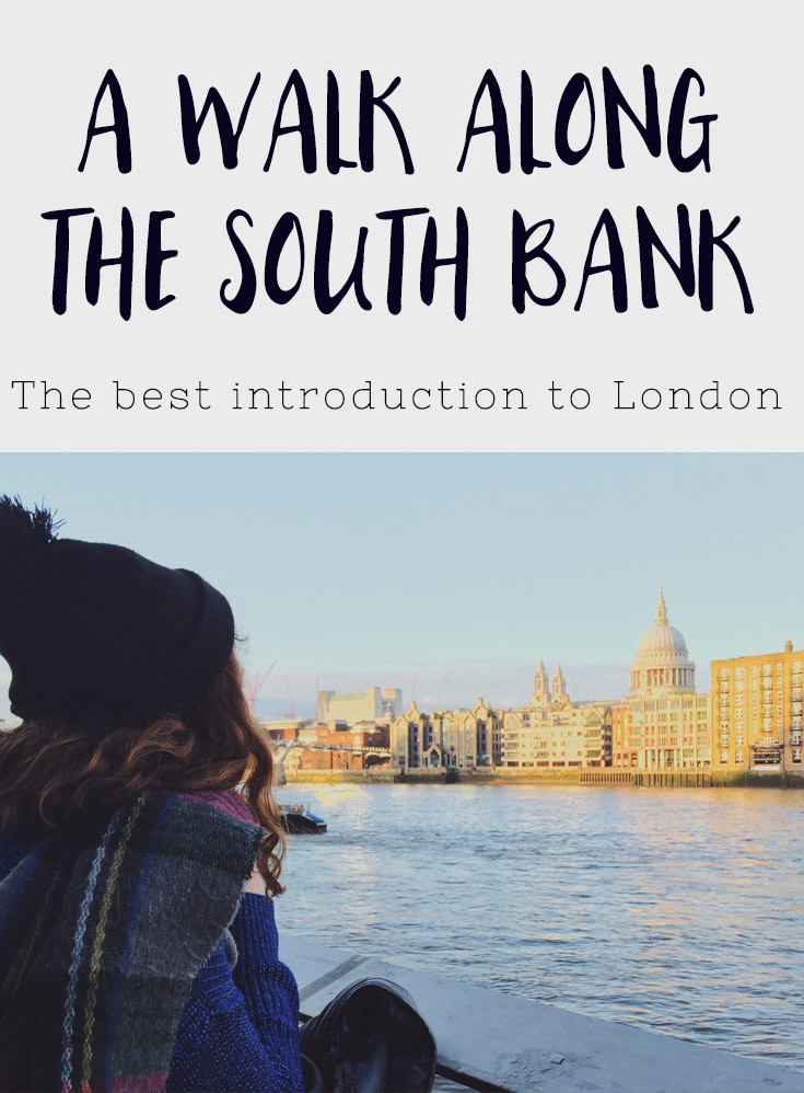 A walk along the sounthbank in london