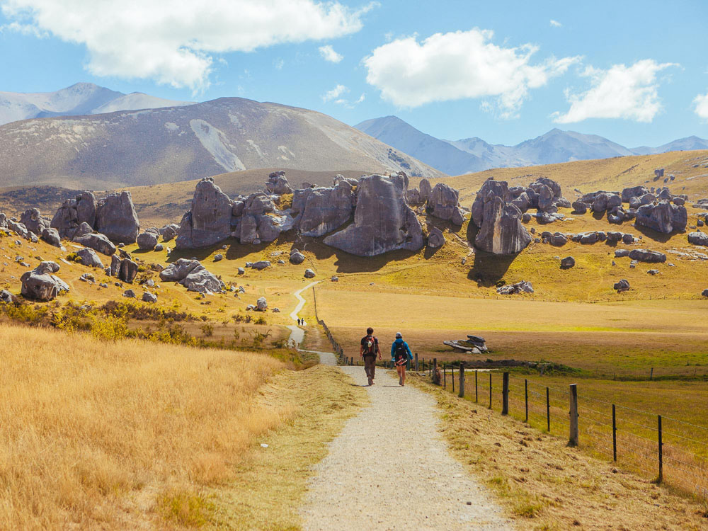 New Zealand road trip tips, Castle Hill