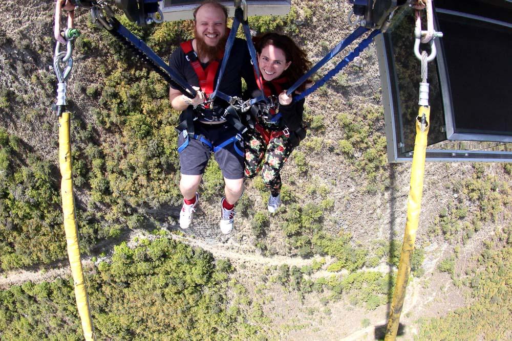 New Zealand road trip - Queenstown Nevis Swing