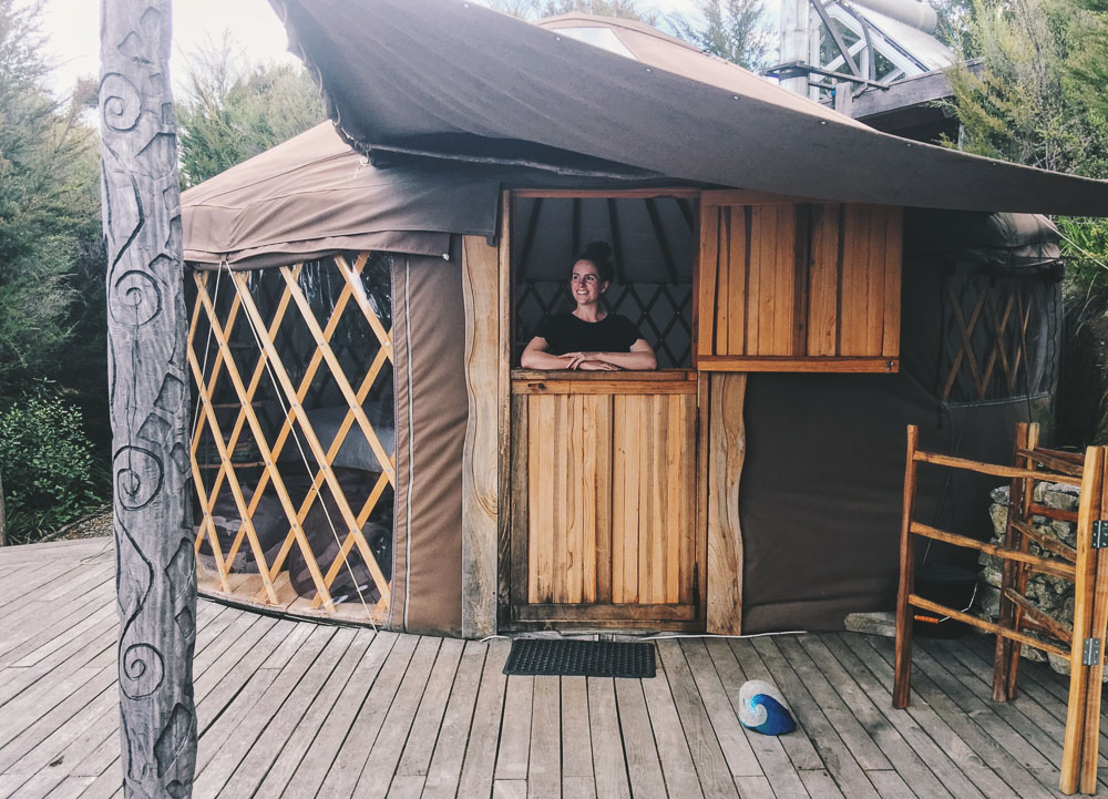 Stay in a yurt, New Zealand