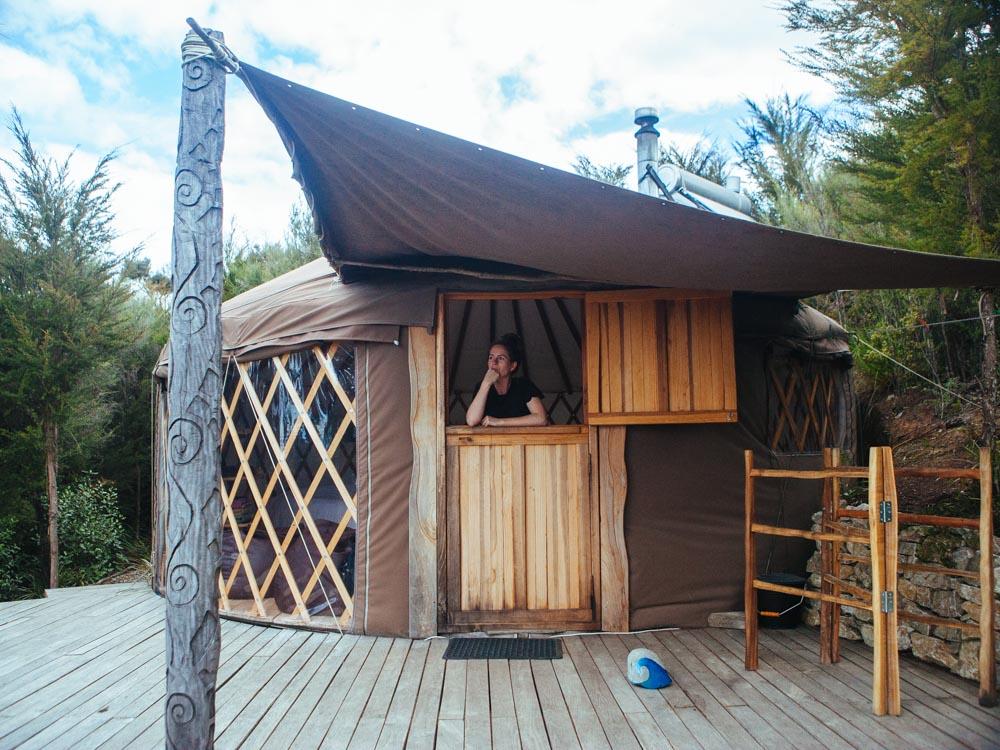 New Zealand yurt