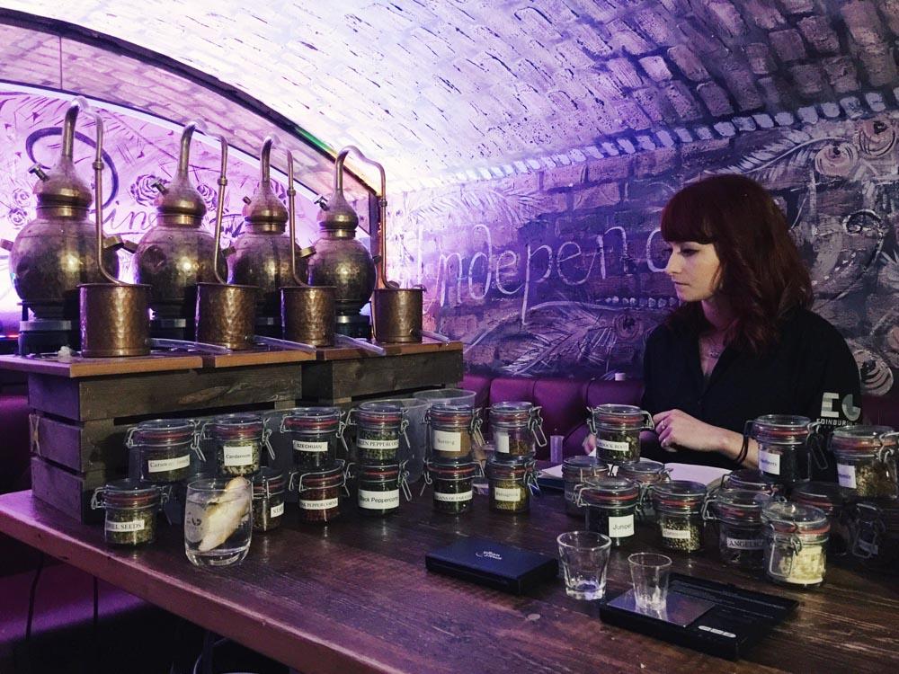 Edinburgh Gin Experience