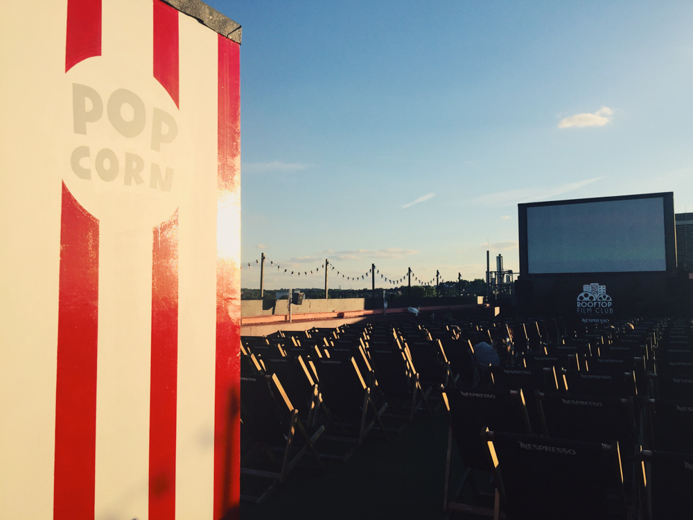 Rooftop Film Club, Bussey Building, Peckham
