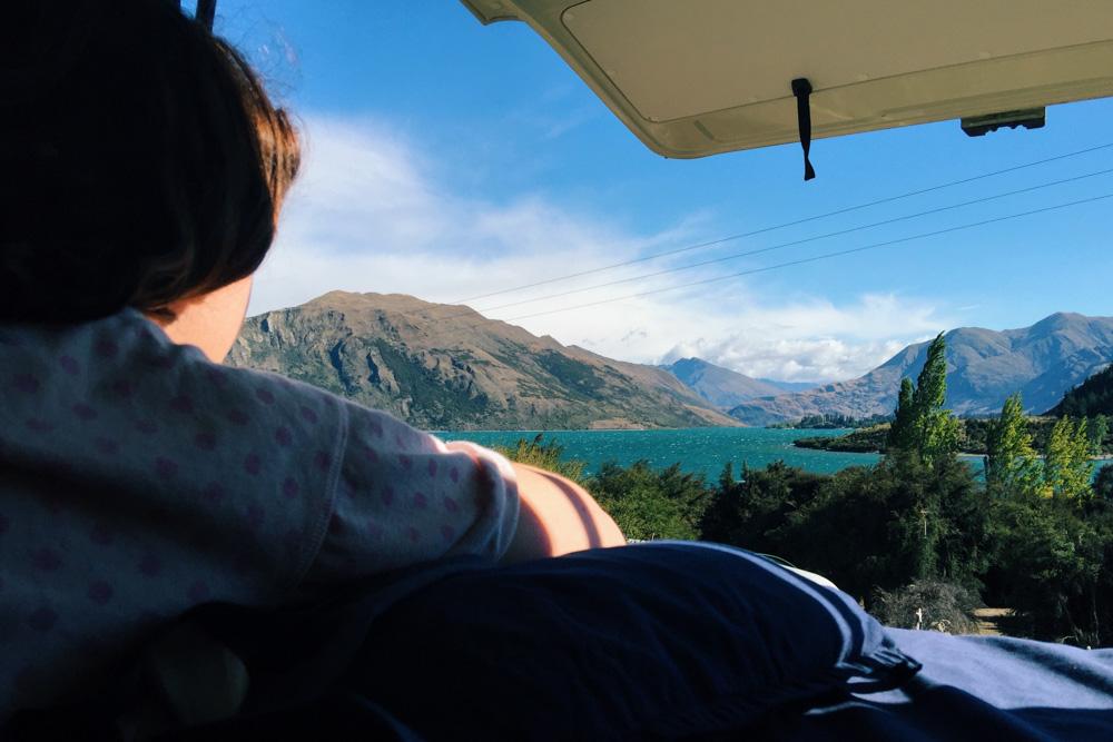 New Zealand trip - Wanaka camp site