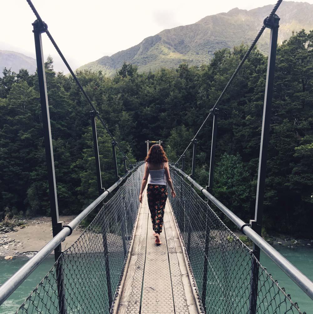 New Zealand road trip -waterfall