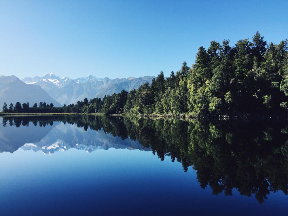 New Zealand road trip - Lake Matheson