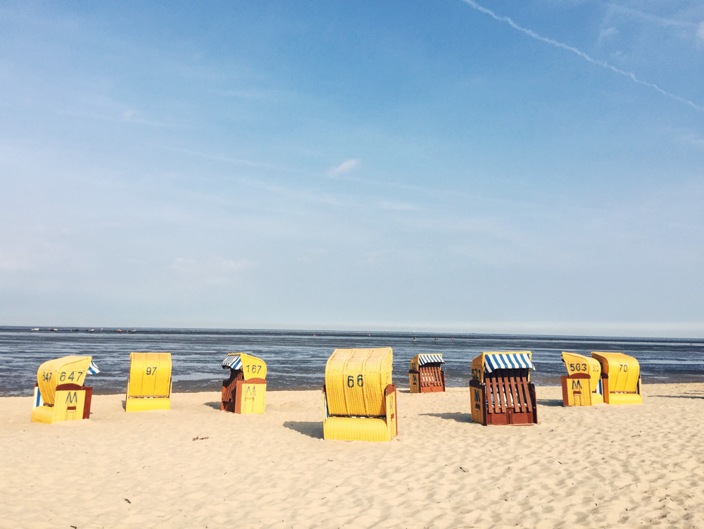 Cuxhaven beach huts