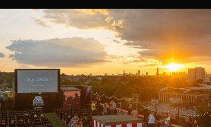 Video: I heart Peckham's Rooftop Film Club