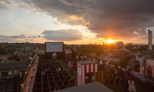 Video: I heart Peckham's Rooftop Film Club