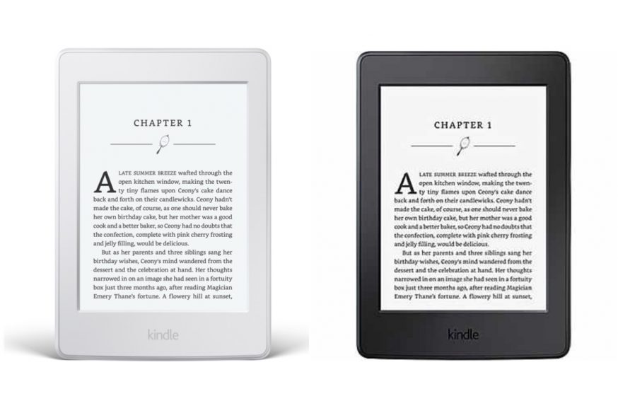 Christmas gift guide - Kindle Paperwhite