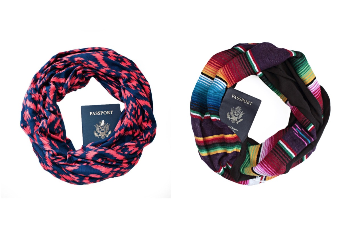 Travel gift ideas - Speakeasy scarf