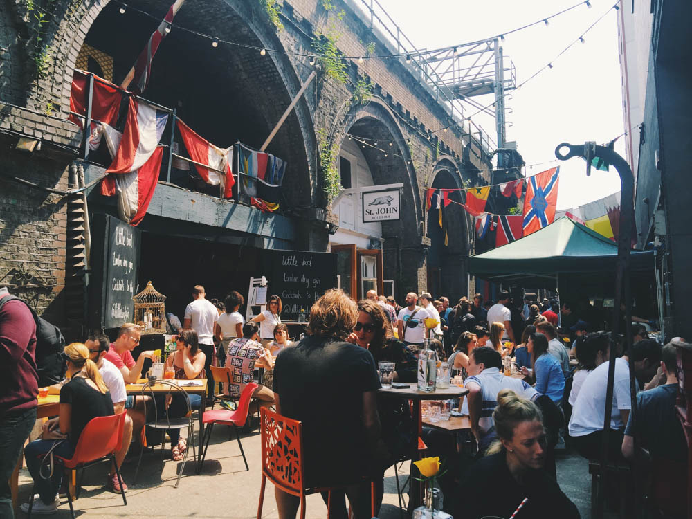 24 Hours in London as a Londoner -Maltby Street Market