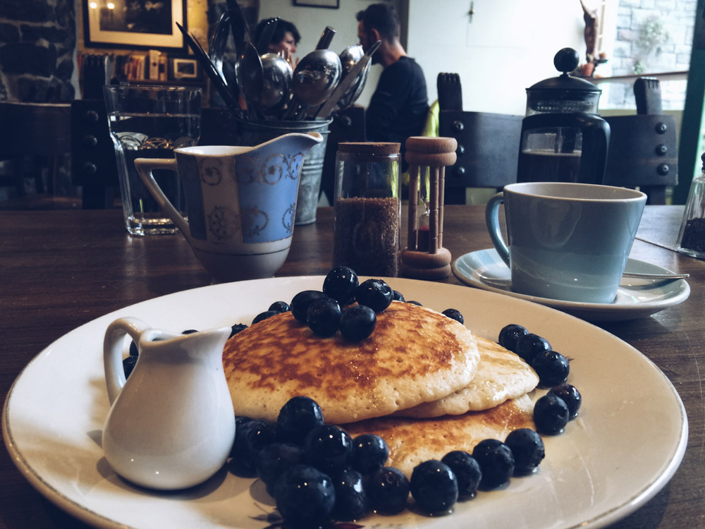 At the Well pancakes, Bristol