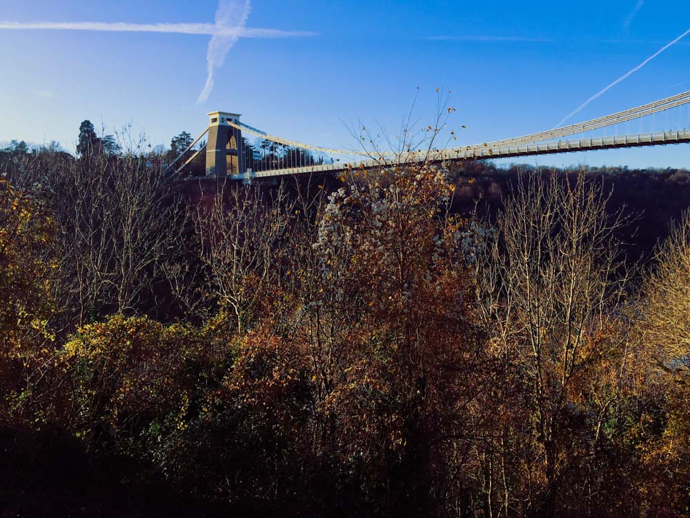 Clifton suspension bridge, Bristol, autumn
