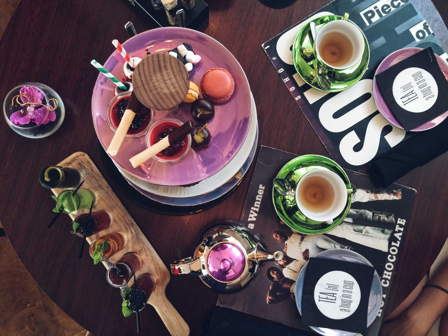 London's best afternoon teas - Glam Rock tea at K West
