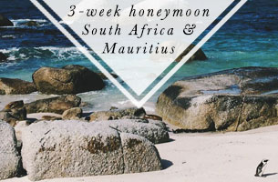 3-week honeymoon South Africa and Mauritius