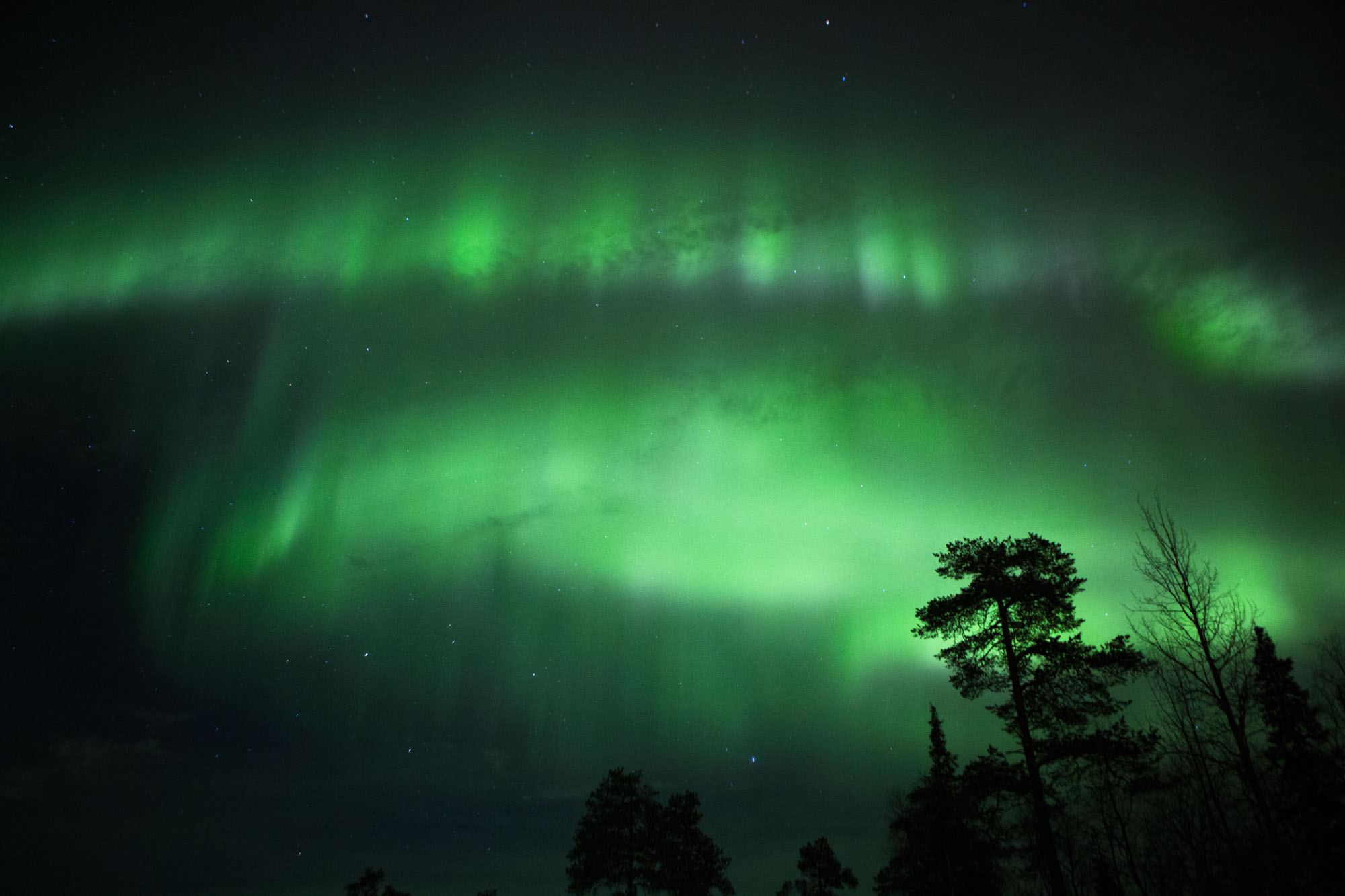 Northern Lights Lapland Finland