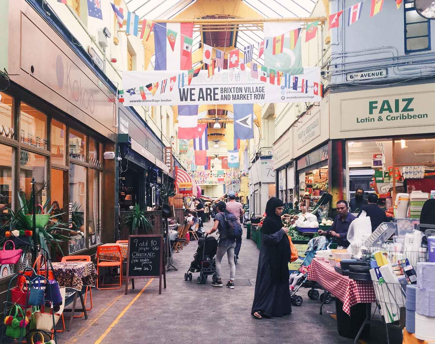 Around the world in 7 London meals – Brixton Village