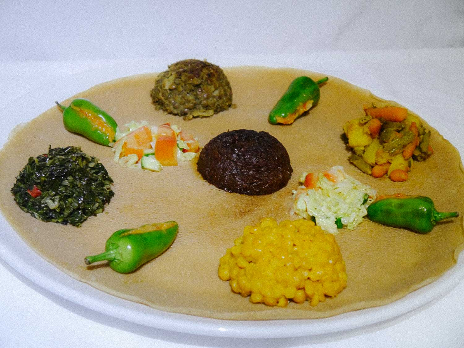 Around the world in 7 London meals - Lalibela