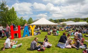Best UK arts festivals - Hay on Wye
