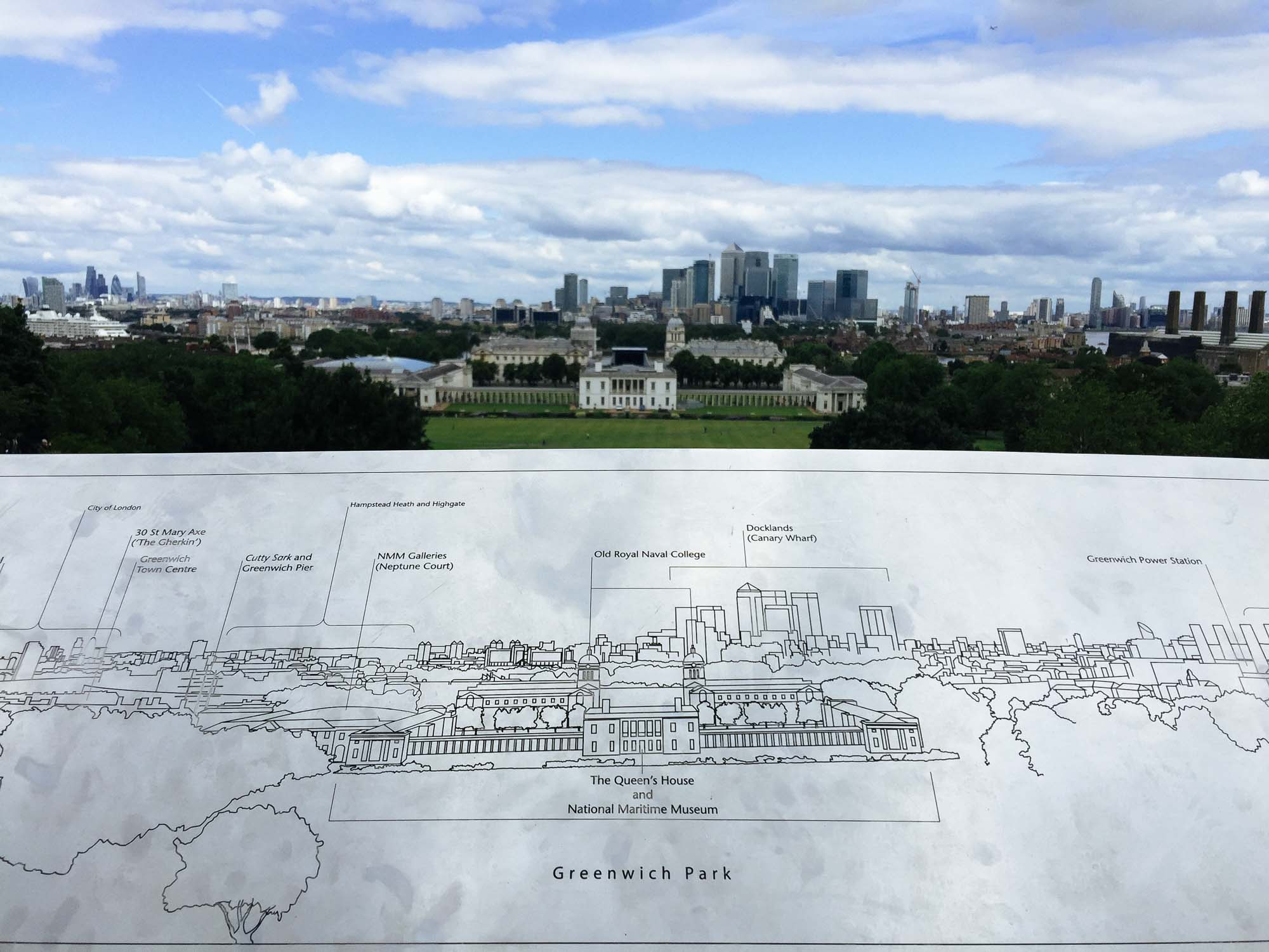 Best views in London - Greenwich