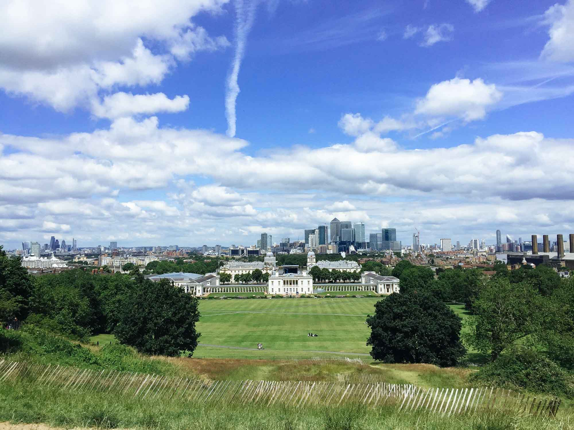 Best views in London - Greenwich Park