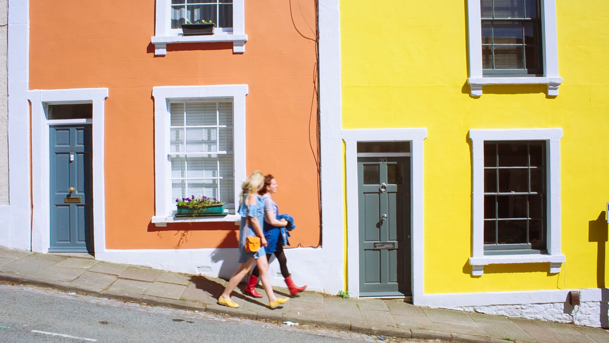 Things to do in Bristol - Colourful houses, Bristol