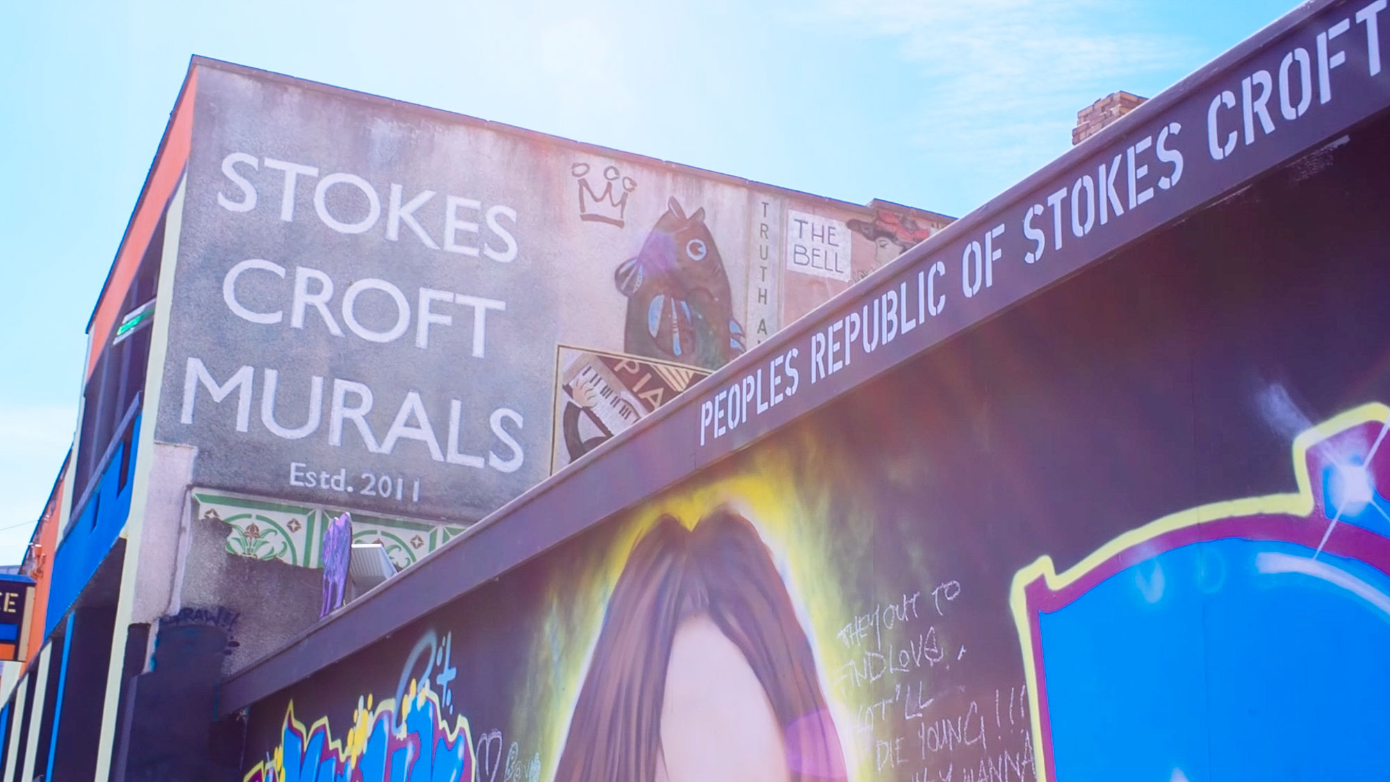 Things to do in Bristol - Street art in Stokes Croft